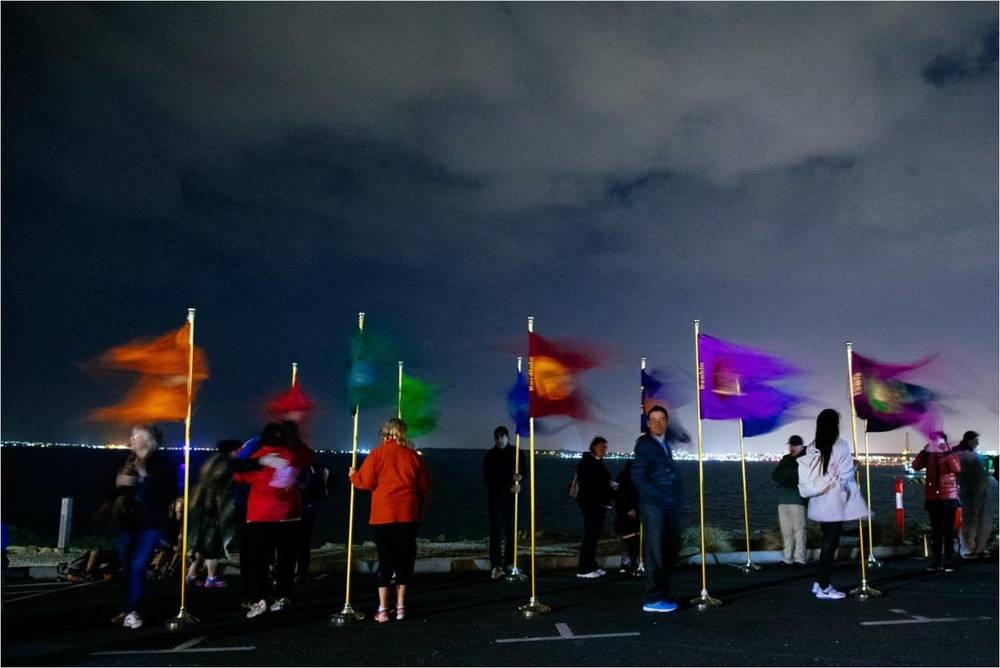Ward Flags: Kathryn Williams; Photographer: Ed Sloane