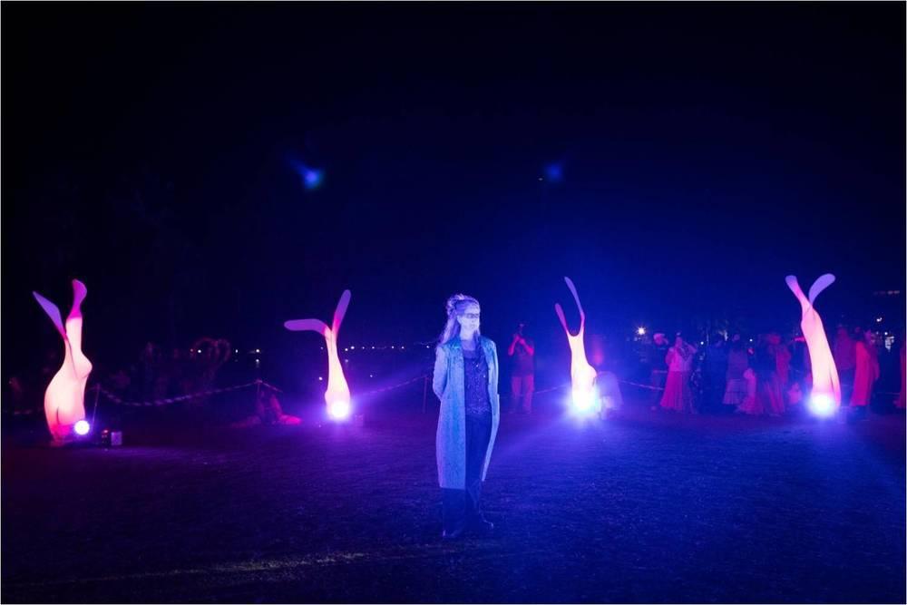 Circle Artists: Jacinta Leitch & Dare Tekin; Ceremony Director: Margie Mackay; Photographer: Ed Sloane