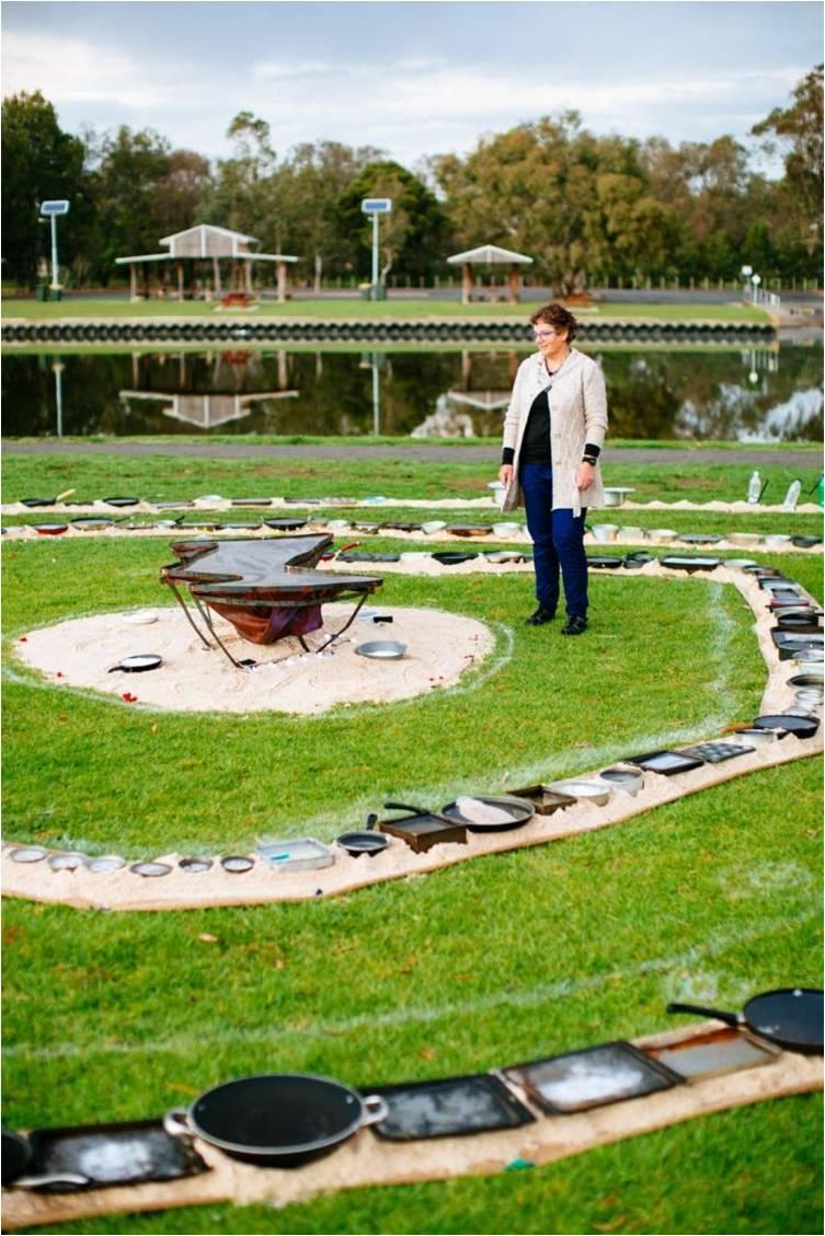 Circle Artist: Jennifer McElwee; Photographer: Jarrah Lynch