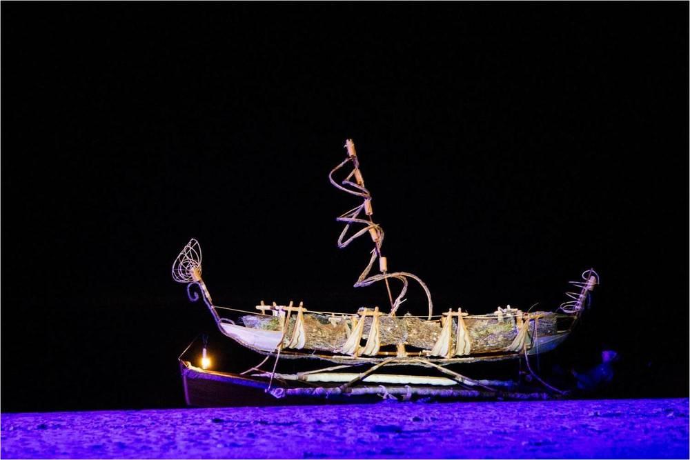 Canoe Artists: Leornard Tebegetu & Mahony Keily; Photographer Dean Walters