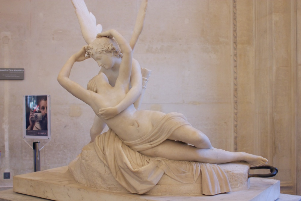 Psyche Revived by Cupid's Kiss『アムールとプシュケ』