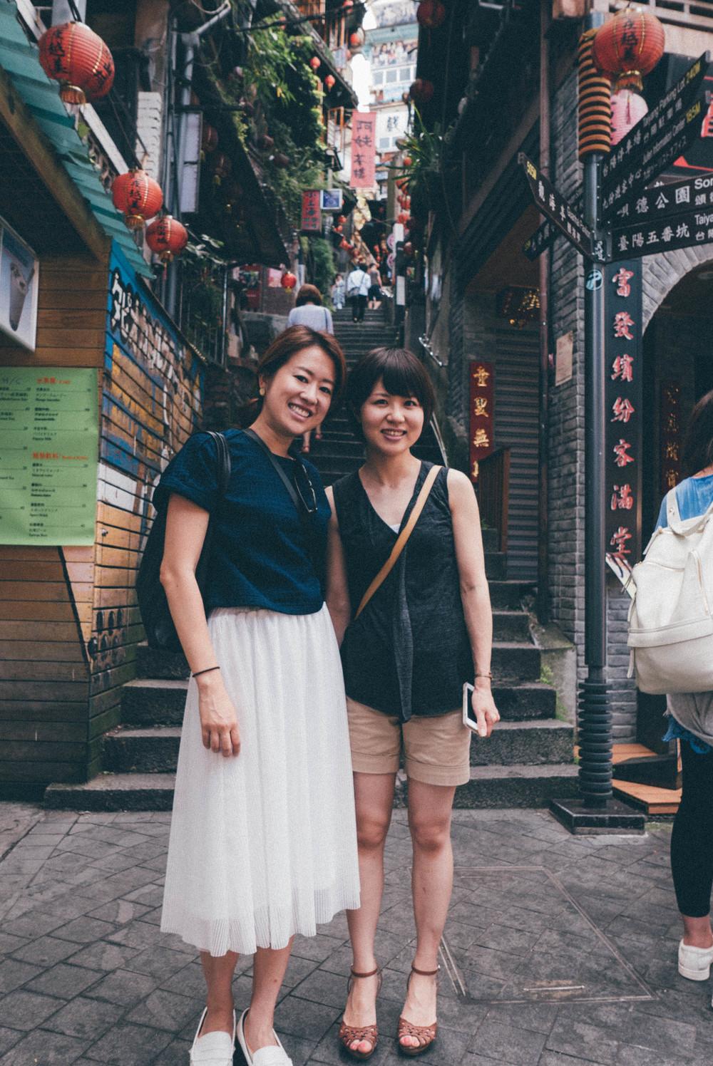 Strolling in Old Street in Jiu Fen | blossomlink.me by @0oyukao0