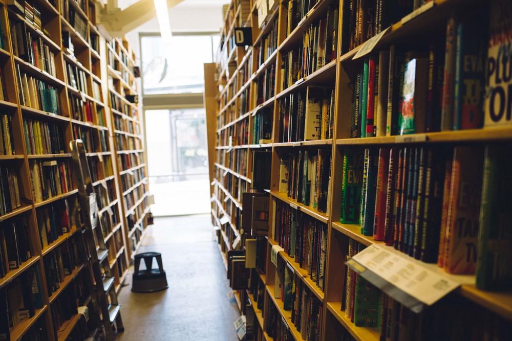 Powell's Books in Portland, Oregon