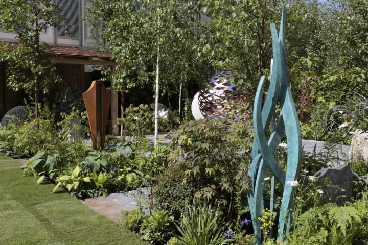 David Harber sculpture garden (Chelsea 2015)