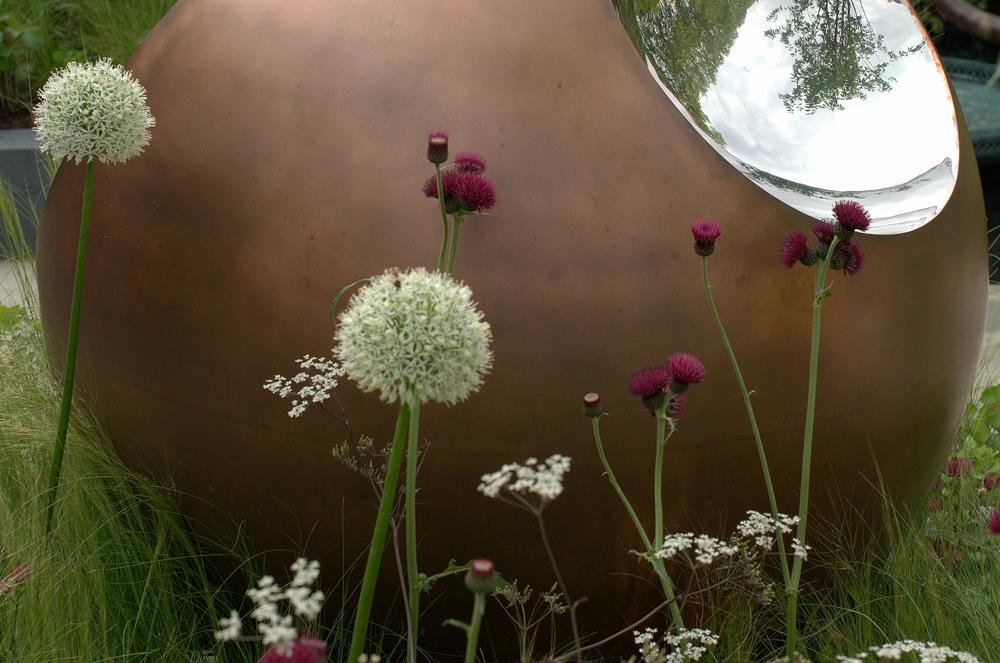 David Harber sculpture garden (Chelsea 2014)