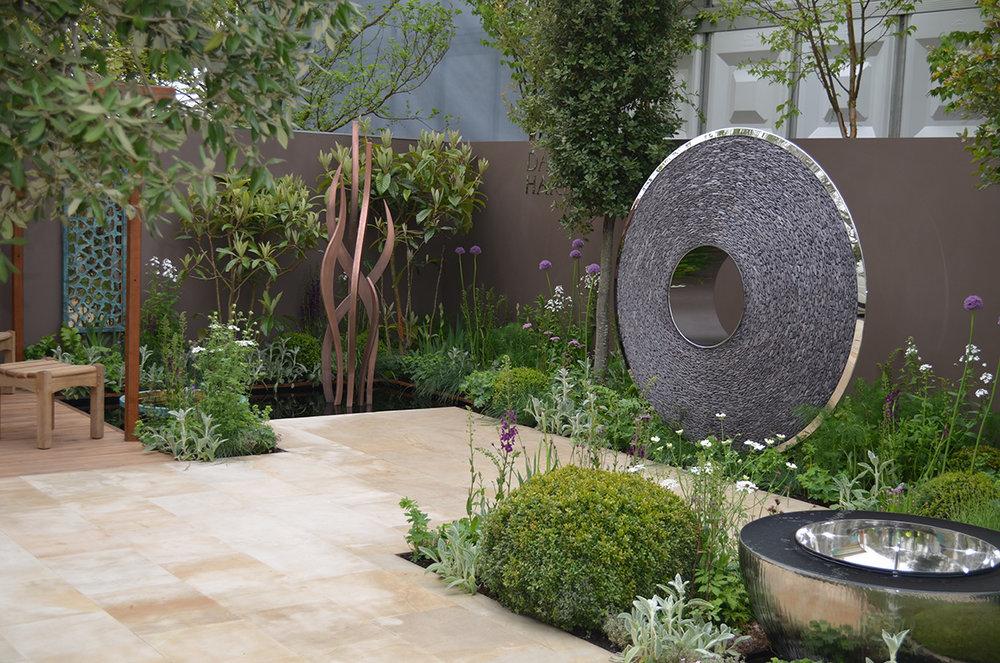 David Harber sculpture garden (Chelsea 2013)