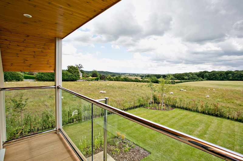 A New Build House with Far-reaching Views