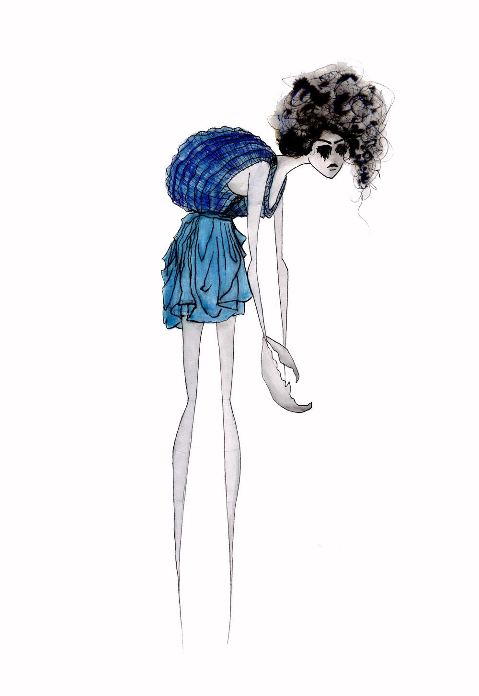 24 UV Emperor Scorpion inspired Jersey Dress & Knitwear Illustration.jpg