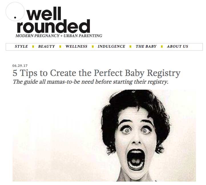 5 Tips to Create the Perfect Baby Registry