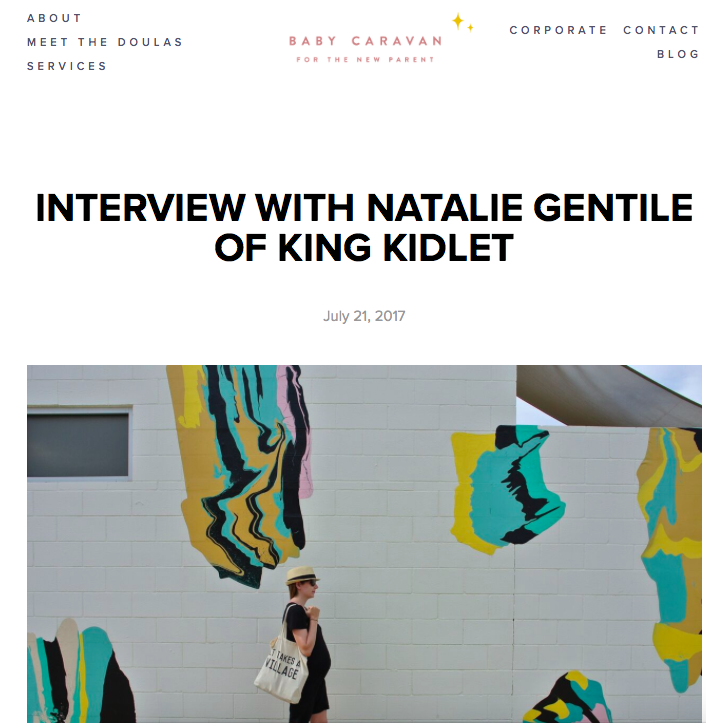 King Kidlet Interview with Baby Caravan