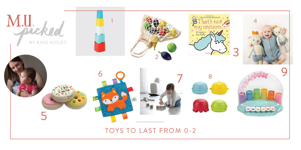 M.U. Picked by King Kidlet Toys For 0-2