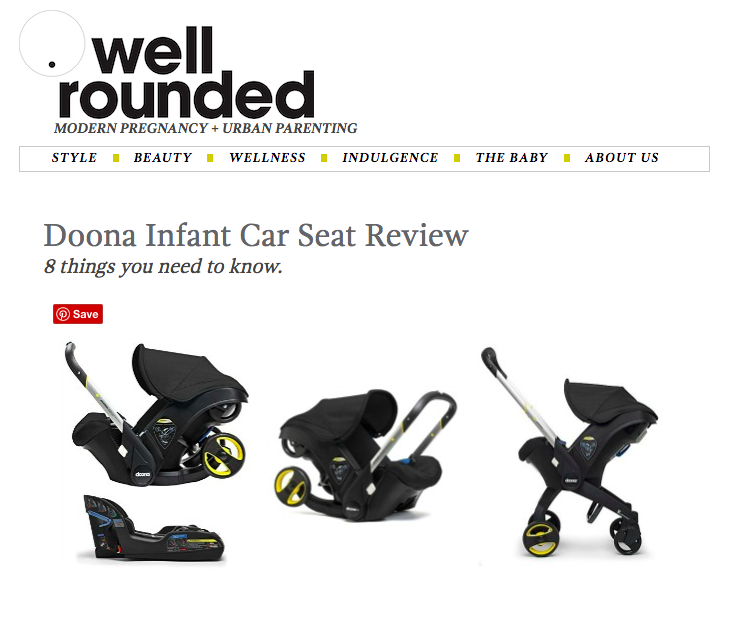 Donna Infant Car Seat Review