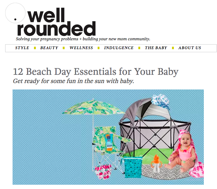 12 Beach Day Essentials for Your Baby