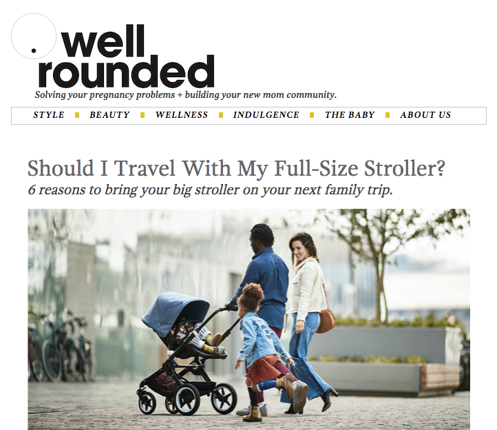 Should I Travel With My Full-Size Stroller