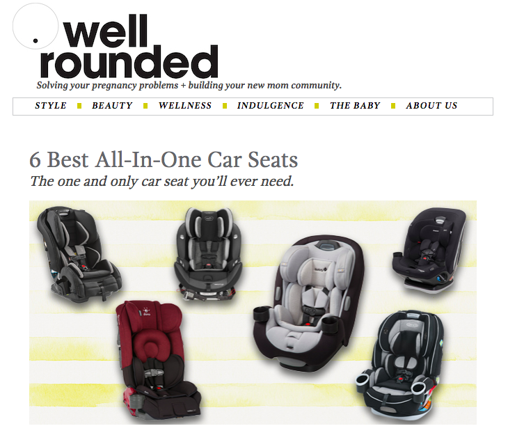 6 Best All-In-One Car Seats / King Kidlet for Well Rounded, NY
