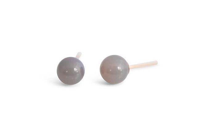 And one pair of these grey chalcedony posts and that's it friends!