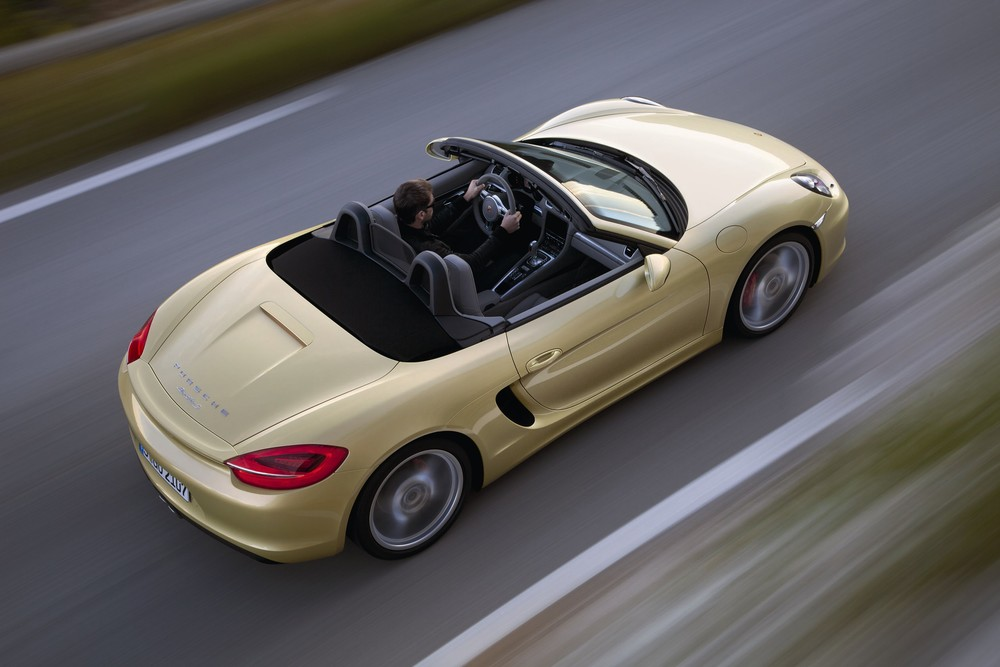 2013 Porsche Boxster S in Lime Gold