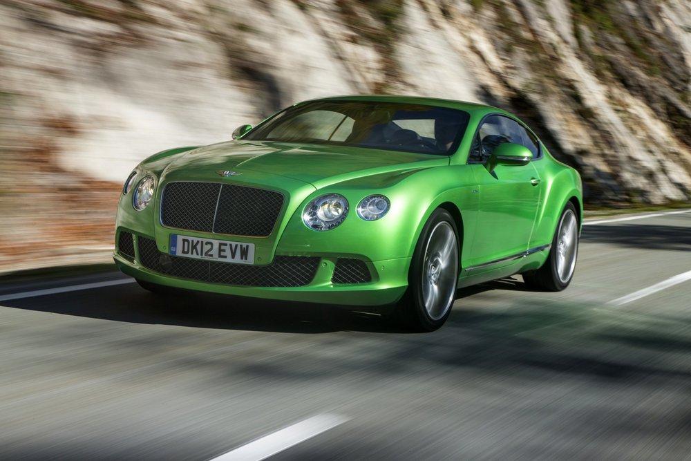 """Apple Green"" Bentley Continental GT Speed"