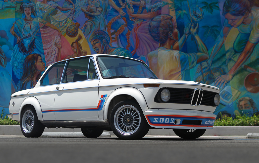 On the block: 1974 BMW 2002 Turbo (Estimate: $60,000 - $80,000). Image courtesy Gooding & Company/Mathieu Heurtault