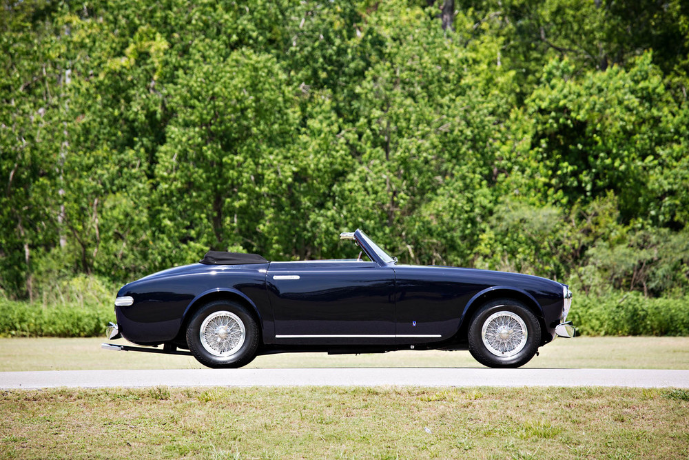 On the block: 1952 Ferrari 212 Europa Cabriolet (Estimate: $1,350,000 - $1,650,000). Image courtesy Gooding & Company/Brian Henniker