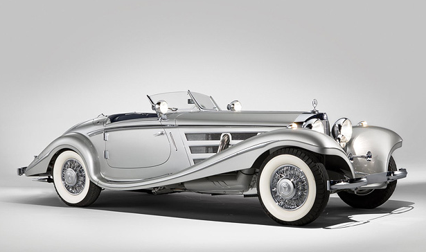 An original line-dropper: 1937 Mercedes-Benz 540K Special Roadster (image: RM Auctions)