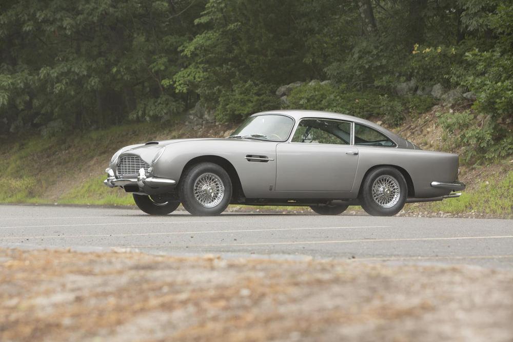 At Bonhams, a face never too familiar: 1965 Aston Martin DB5 (image: Bonhams)