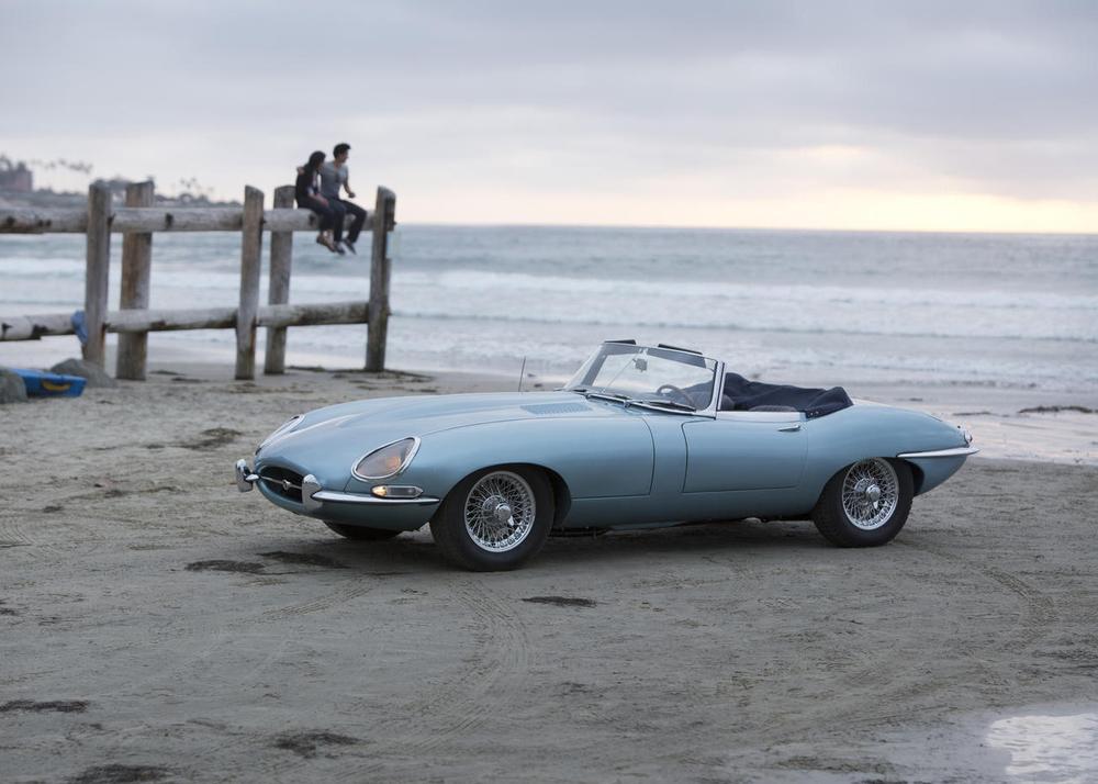 At Bonhams, 1967 Jaguar E-Type Series 1 Roadster