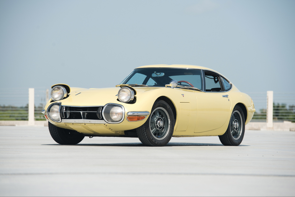 At RM Auctions, 1968 Toyota 2000GT (Image courtesy RM Auctions/Darin Schnabel)