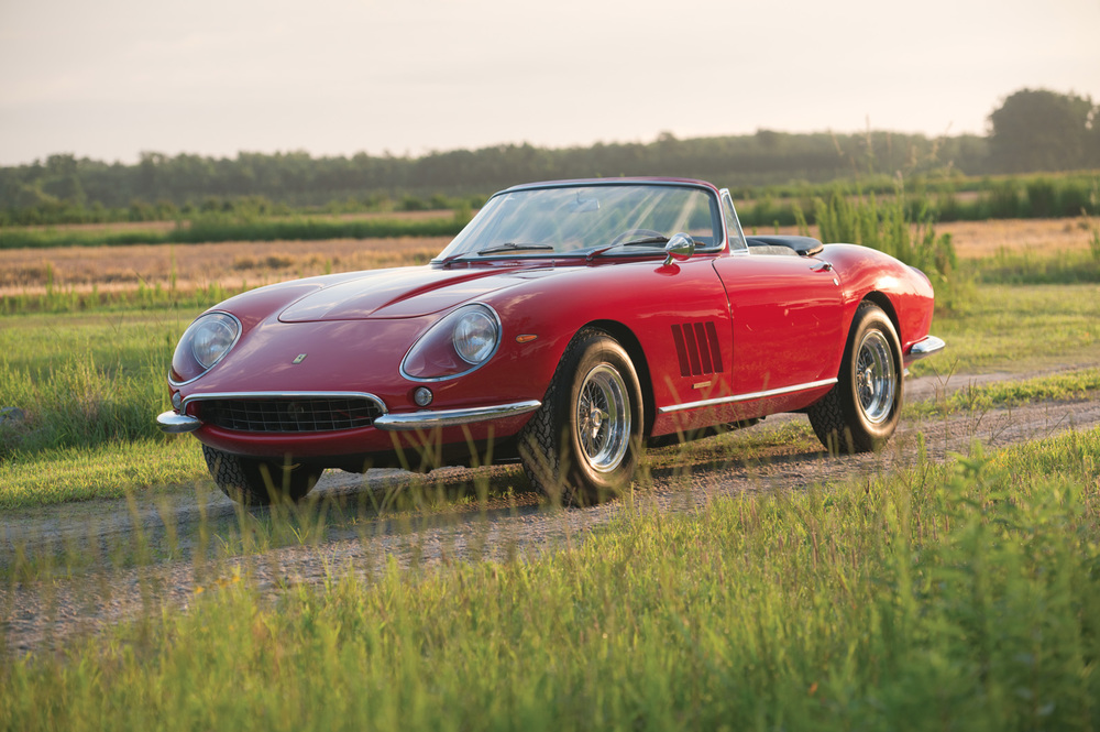 At RM Auctions, Ferrari 275 GTB/4 S N.A.R.T. Spider (Images courtesy RM Auctions/Darin Schnabel)