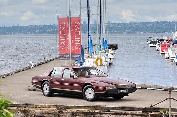 At Mecum, 1986 Aston Martin Lagona (image: Mecum)