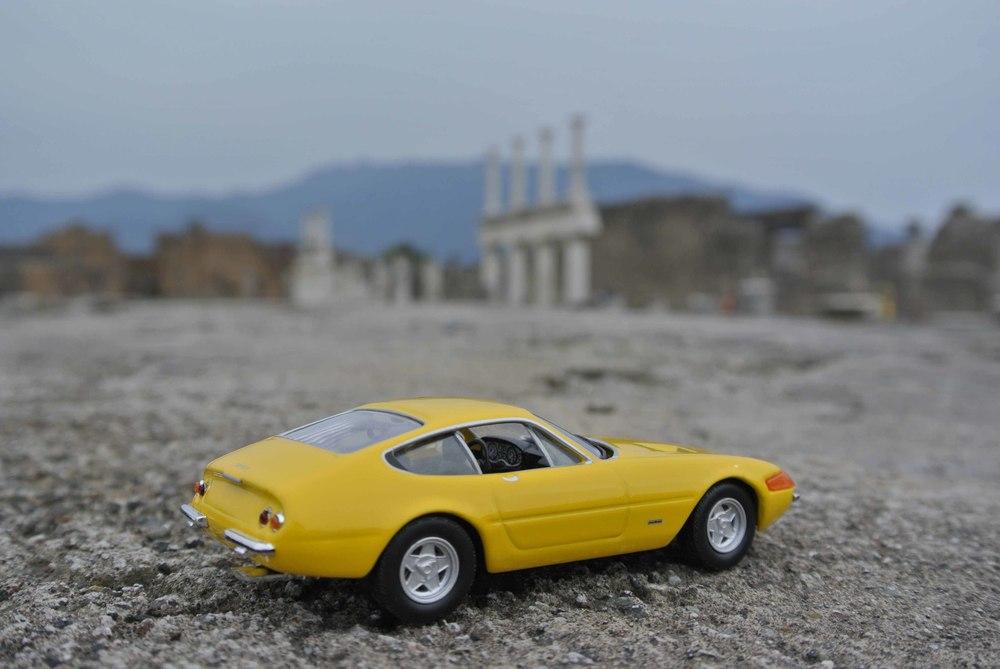 "Ferrari 365 GTB ""Daytona"" in Pompeii, Italy"