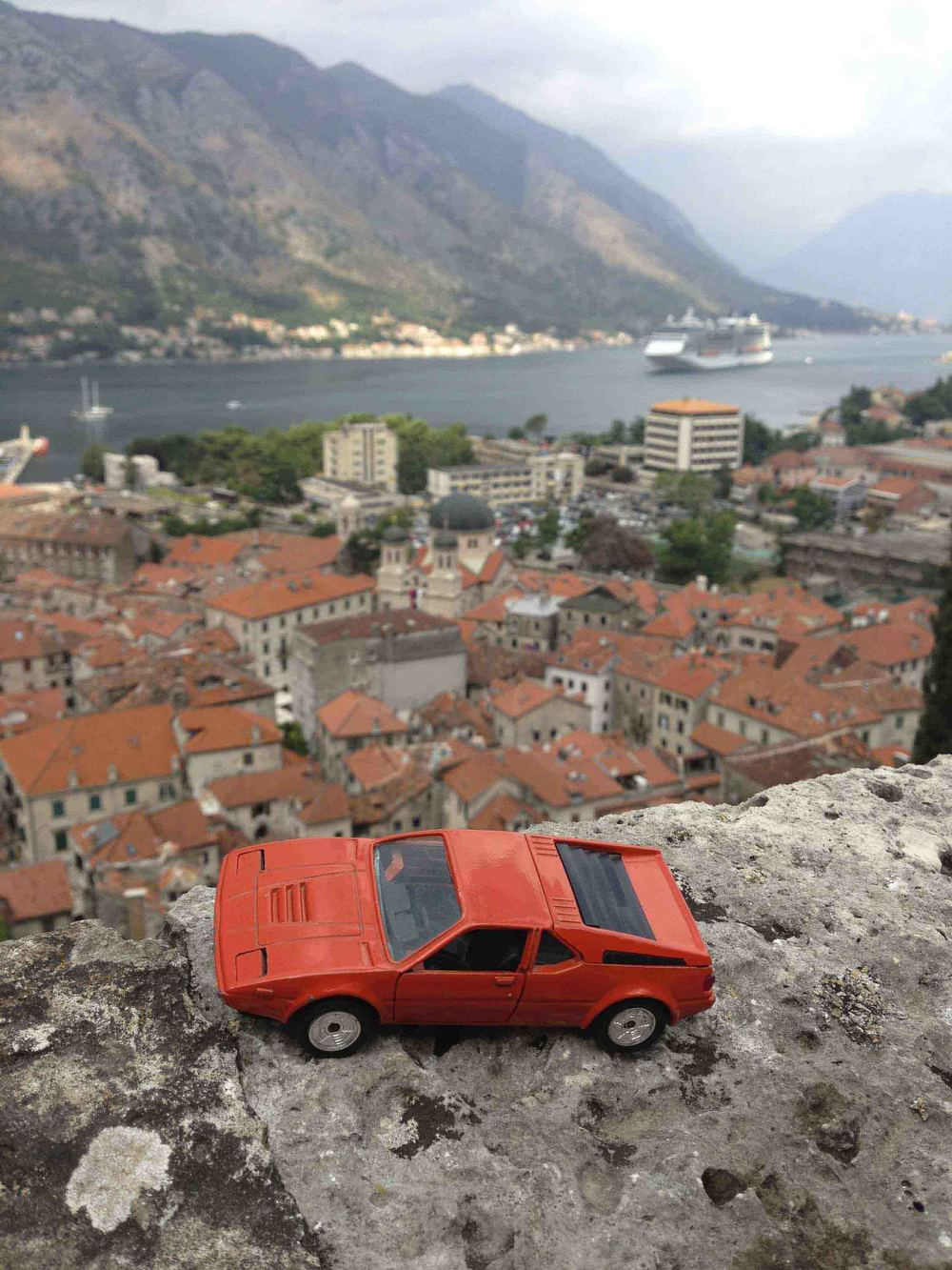 BMW M1 in Kotor, Montenegro