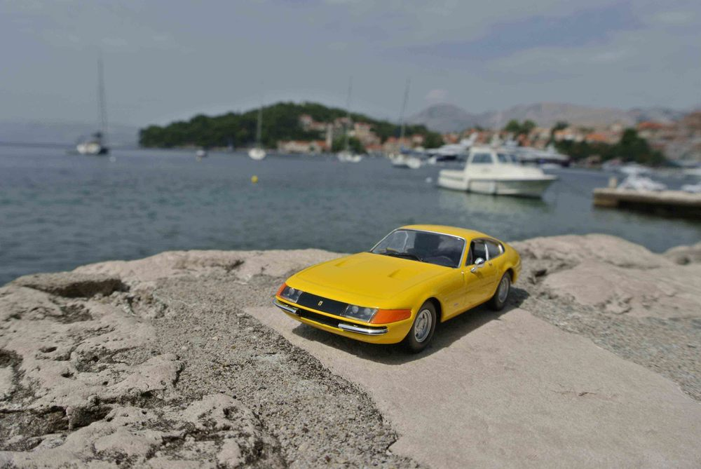 """Ferrari 365 GTB """"Daytona"""" in Dubrovnik, Croatia"""