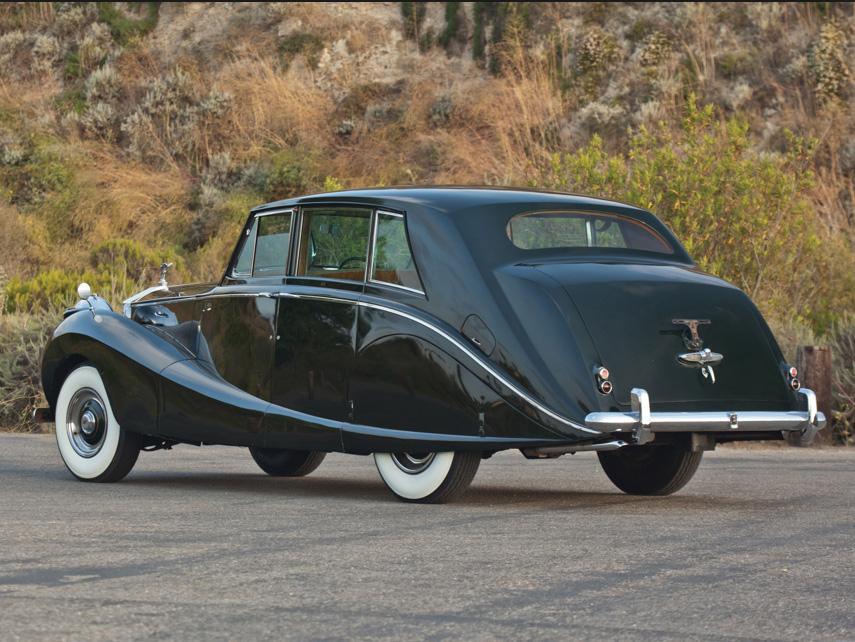 1958 Rolls-Royce Silver Wraith Hooper Limousine