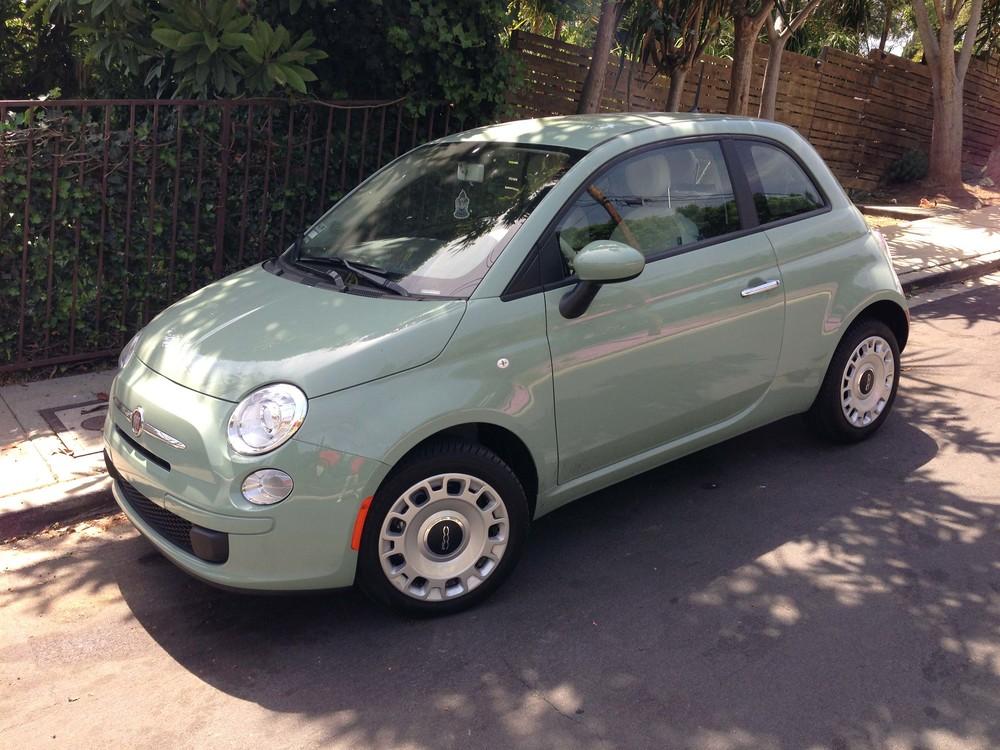 FIAT 500 in Verde Chiaro