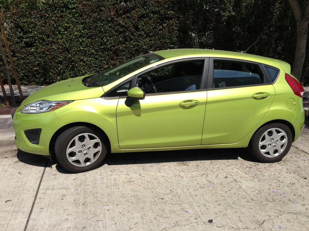 Ford Fiesta in Lime Squeeze