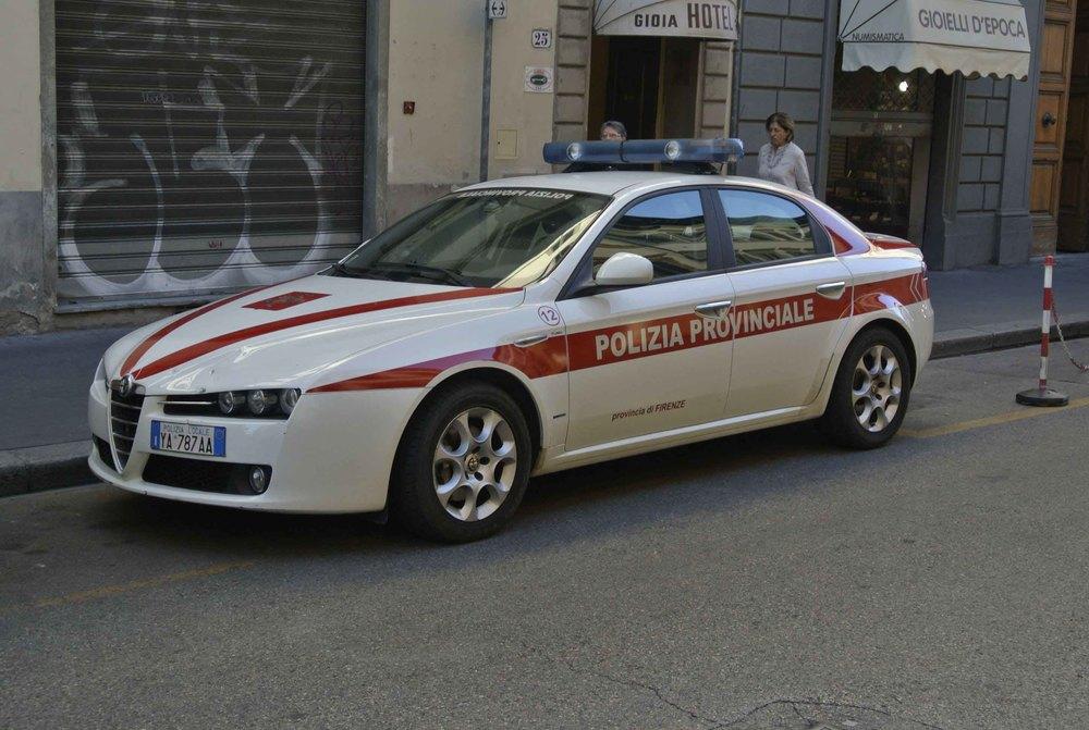 Alfa Romeo 159 in Florence, Italy