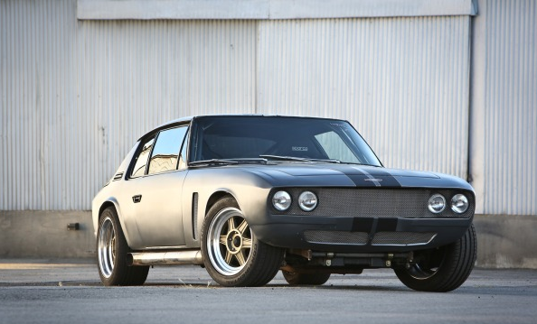 Jensen Interceptor III from  Fast & Furious 6   (image courtesy of Edmunds.com)