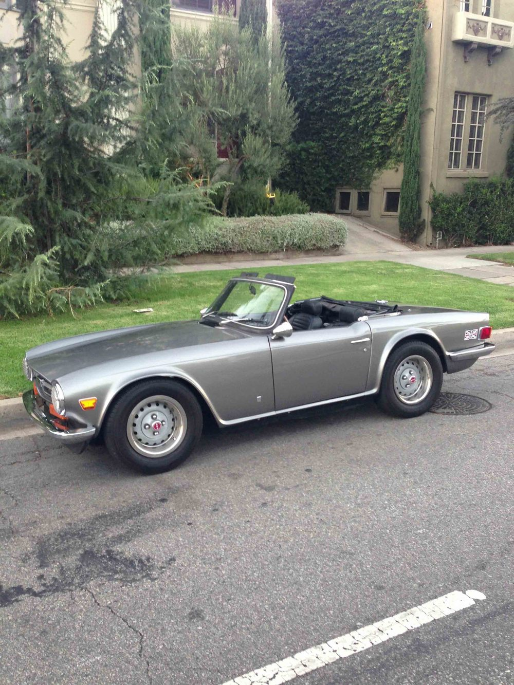 Early 70s Triumph TR6
