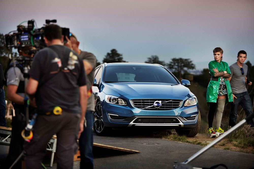 New volvo commercial