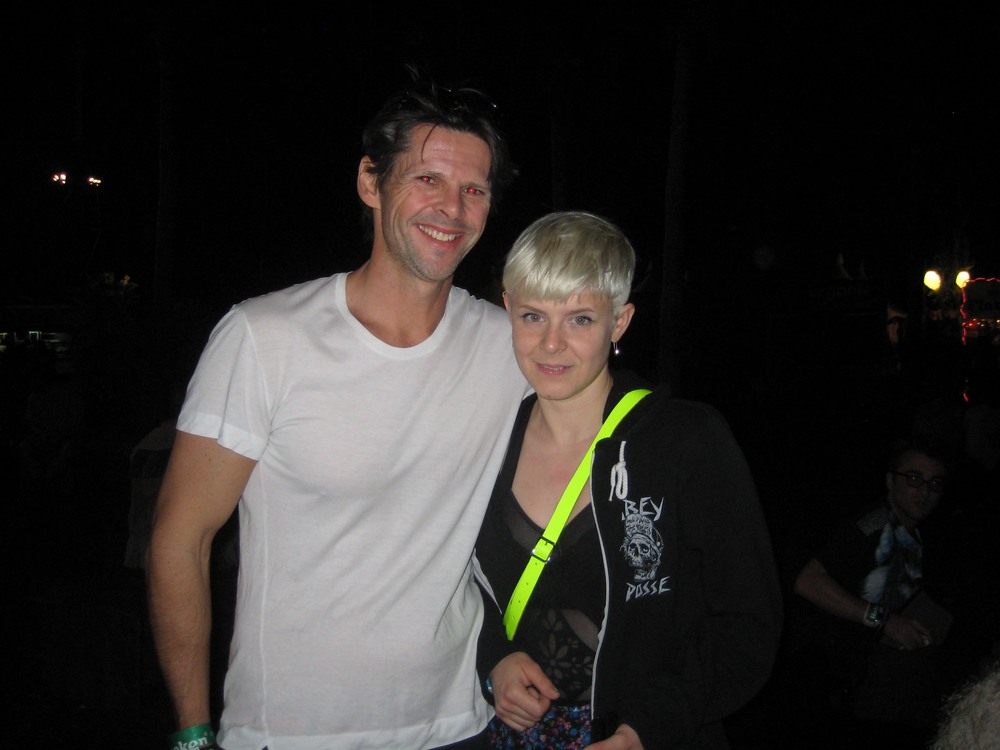 Me with Robyn at Coachella in 2012