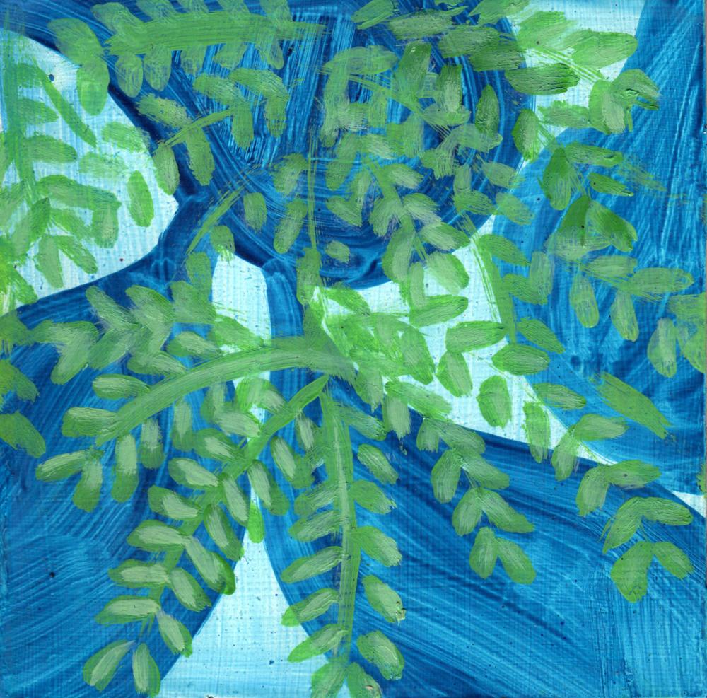 Green Ash Blue