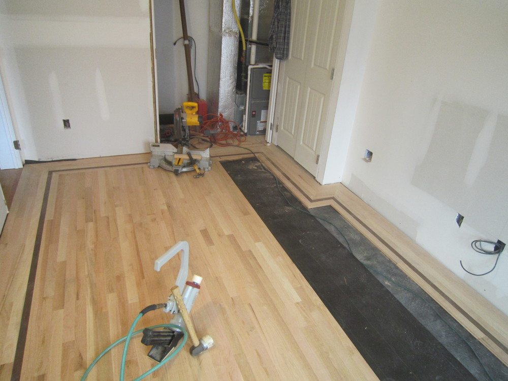Custom hardwood floor work floortime llc delaware valley for Custom hardwood flooring