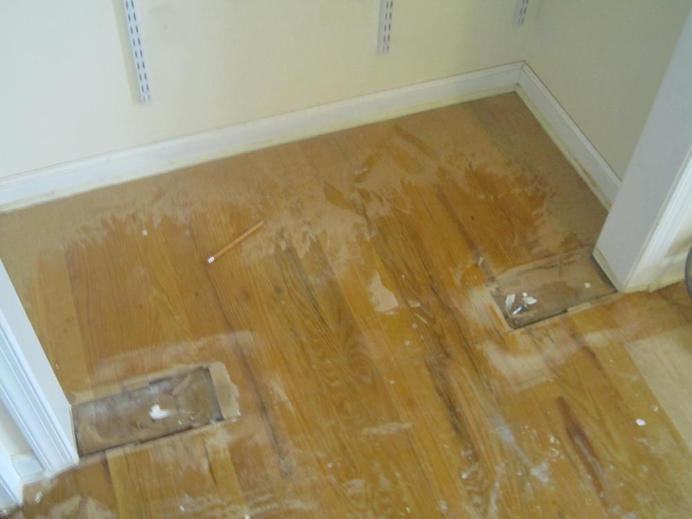 Hardwood Floor Repair old hardwood floor repair restoration before refinishing how to tips mryoucandoityourself youtube Closet Repair