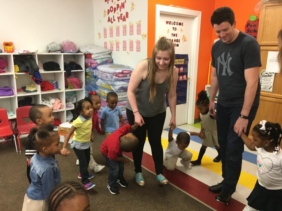 Workshop at Scholastic Academy Preschool in Little Rock
