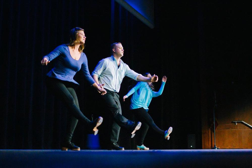 Performance at our Second Fundraising Gala at Ron Robinson Theater