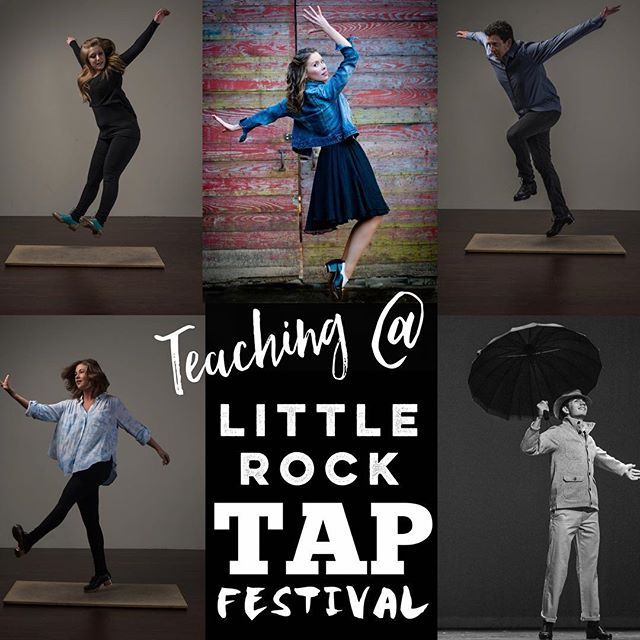 Little Rock Tap Fest begins in just ONE week! All of our company members are excited to tap and learn all week! Untapped Director Matt Boyce, and company members Savannah Boyce, Sydney Kneuven, Michael Roberson, and Anna Kimmell will all be teaching at the festival! Come tap with us next week at @littlerocktapfestival!