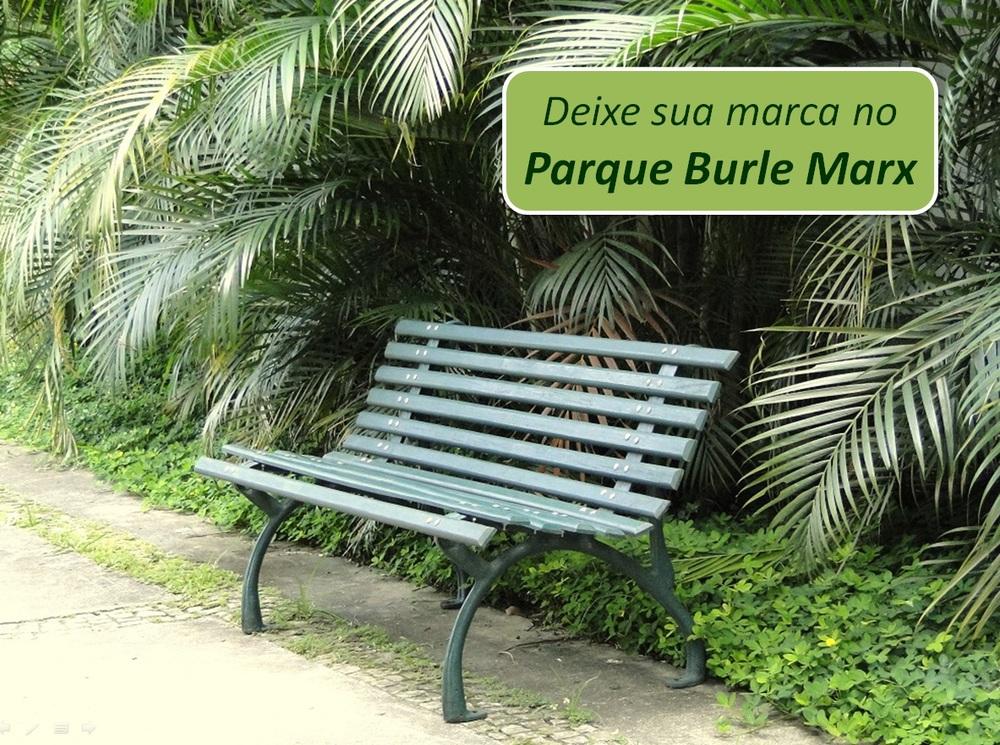 Banco do Parque para ser adotado.
