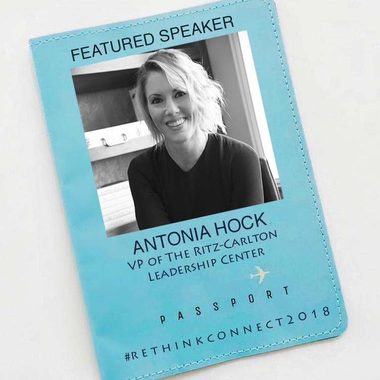 Antonia Hock, Vice President of The Ritz-Carlton Leadership Center