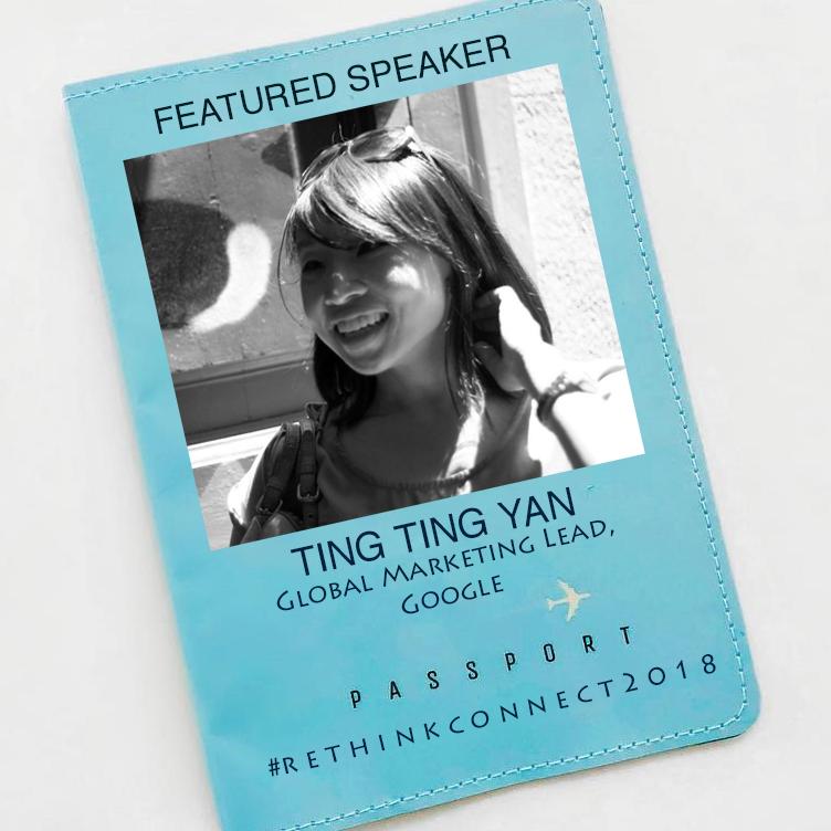 TingTingYan, global marketing lead Google